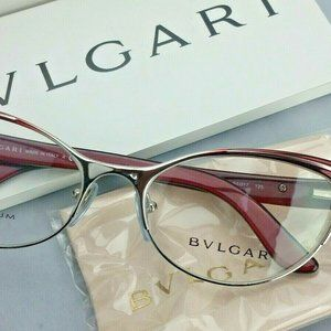 New BVLGARI 2120-T-B 4078 Eyeglasses Frame Italy 5